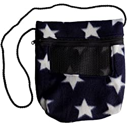 Bonding Carry Pouch for Sugar Gliders and other small pets (Stars)