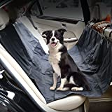 Mobo Dog Car Seat Covers – Pet Black Seat Covers For Cars, Dog Car Hammock & Bench Convertible, Padded, Waterproof, Nonslip, Universal Fit (54×48″ )