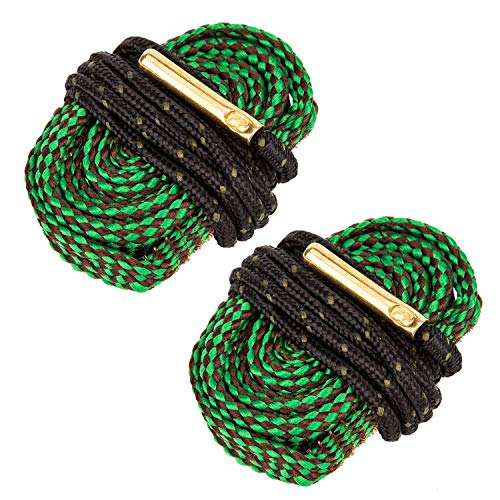 - SAVITA 2 Pack Bore Snake Gun Snake Gun Bore Cleaner with Built-in Brass Brush Boresnake for Rifle, Pistol & Shotgun (5.56mm Caliber. 22 Cal .223 Cal)