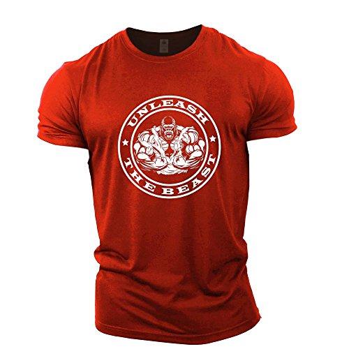 Uomo Maglietta Uomo Gymtier Sportiva Red Sportiva Red Gymtier Maglietta UptqBn