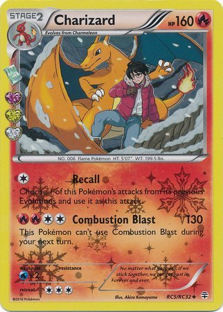 Pokemon Charizard RC5 Generations Holo Buy