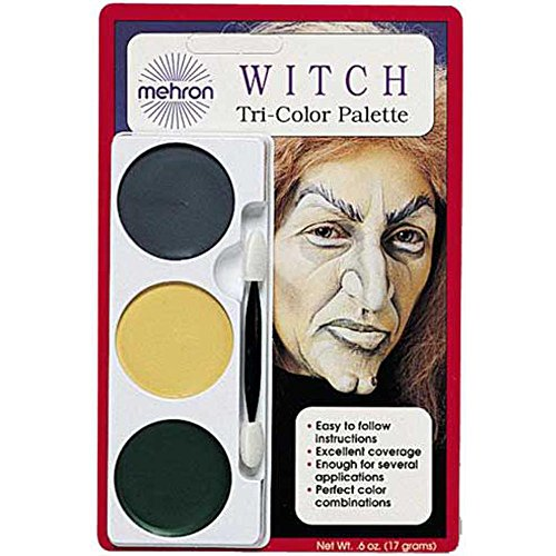 Witch Makeup And Accessories Kit (Ghoul/Witch Make Up Costume Kit)