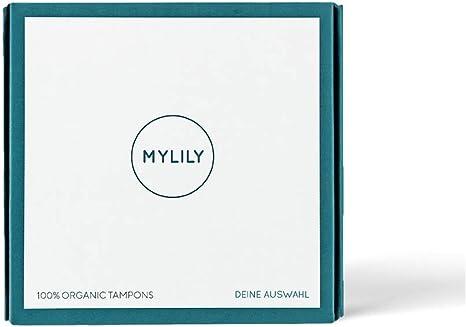 MYLILY® - Tampones 100% de algodón orgánico certificado, 0% de ...