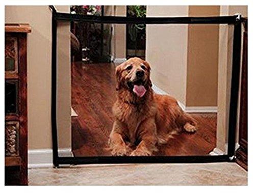 Dog Gate Magic Mesh Portable Pet Dog Fence Safety Guard Folding Magic Gate for Pets Safe Enclosure Fence (72x28 Inch) by YFDZONE (Image #8)