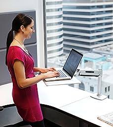 Ergotron WorkFit-P Sit-Stand Workstation PLATINUM (24-408-227)
