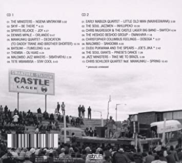 Next Stop Soweto Vol  3: Giants, Ministers And Makers- Jazz In South  Aftrica 1963-1984