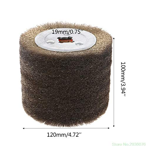 Maslin New Arrival Deburring Abrasive Stainless Steel Wire Round Brush Polishing Grind Buffer Wheel Drop Shipping Support - (Size: 0.3) by Maslin (Image #4)