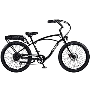 "Pedego Interceptor 26"" Classic Black with Black Balloon Package 48V 10Ah"