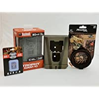 Bushnell Trophy Cam 119874C Trail Camera - Camlockbox | 8 GB Card | Python Cable