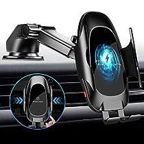 2020最新型 車載ワイヤレス充電器 車載ホルダー 自動開閉 対応 10W/...