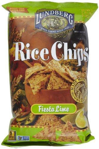 Lundberg Fiesta Lime Rice Chips - 6 Oz Food, Beverages ...