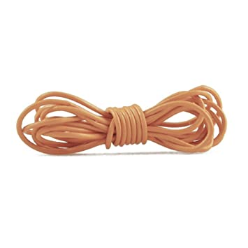 2m Leather Cord Color Bister Brown Size 2x2mm: Amazon co uk
