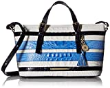 Brahmin Mini Asher Satchel Bag, Regatta, One Size