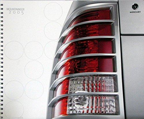2005-mercury-mountaineer-suv-new-vehicle-brochure-2nd-printing