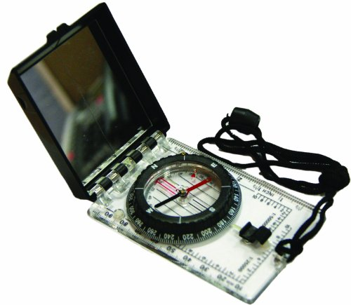 eGear Survival Essentials Folding Map Compass