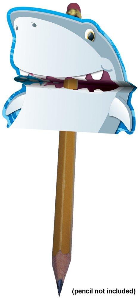 Carson Dellosa Shark Pencil Toppers (101025) by Carson-Dellosa (Image #1)