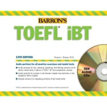 Barron's TOEFL iBT Audio Compact Disc Package, 14th Edition ,by Sharpe Ph.D., Pamela ( 2013 ) audiocd