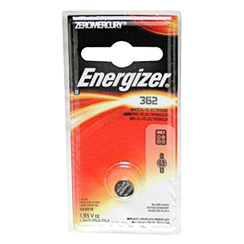 Energizer 362BPZ Zero Mercury Battery
