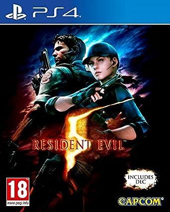 Amazon Com Ps4 Resident Evil 4 Pal Eu No Ntsc Video Games