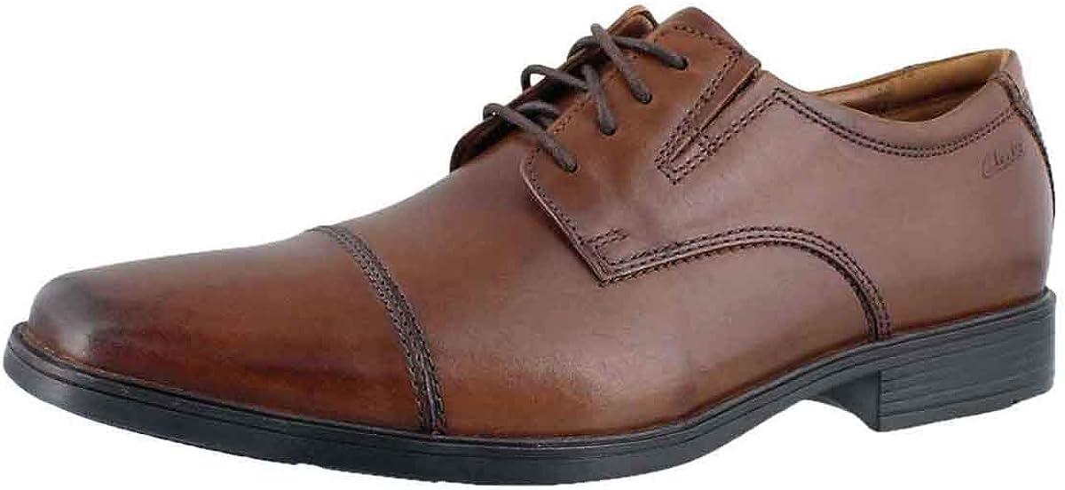 Clarks Mens Tilden Cap Oxford Shoe