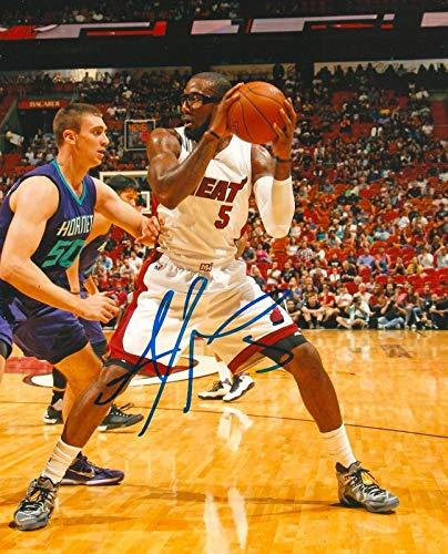 Autographed Amar'e Stoudemire Photograph - AMARE 8X10 COA A - Autographed NBA Photos