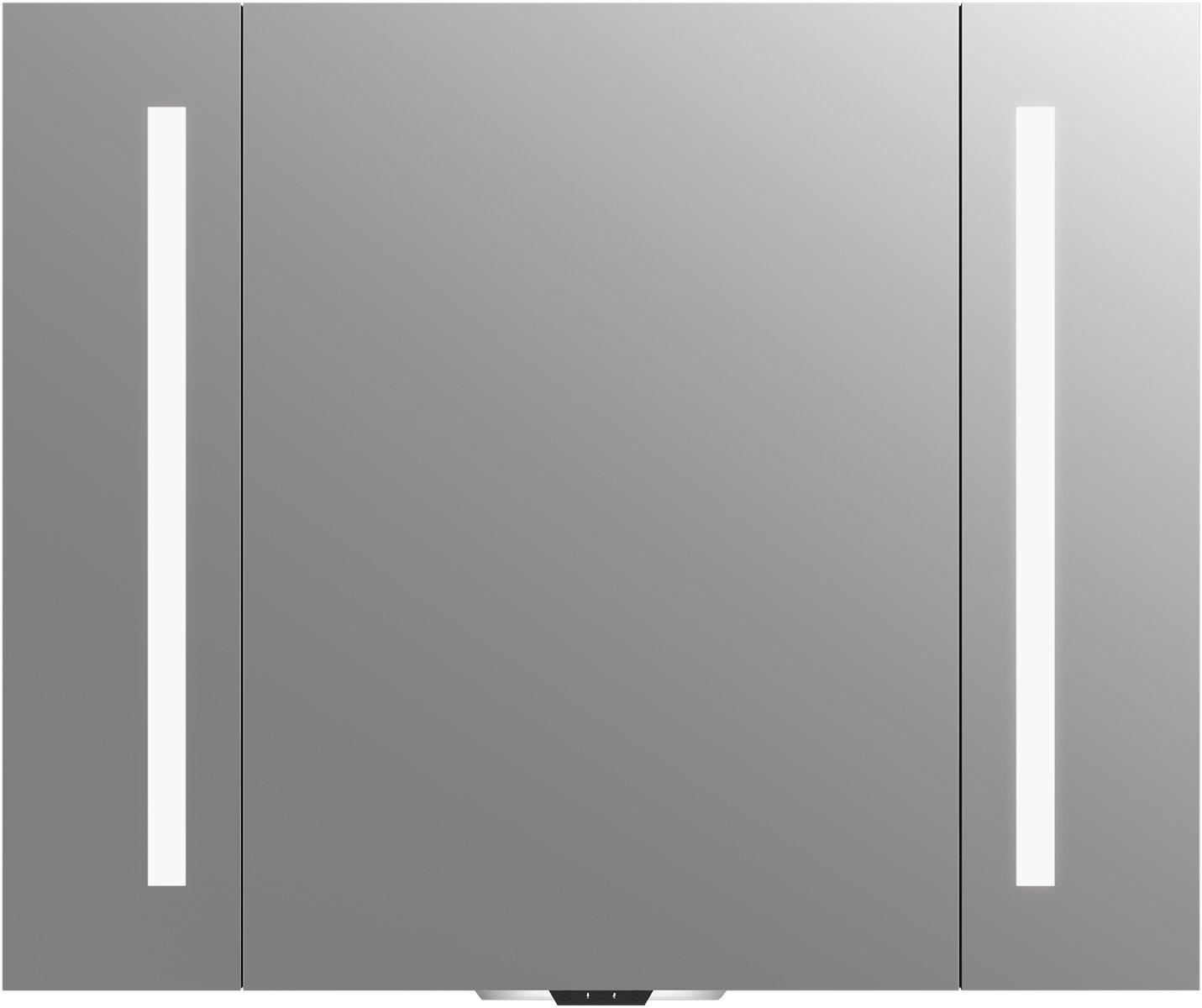 KOHLER 99573-VLAN-NA Verdera Voice 40 in. x 33 in. Lighted Mirror- Works with Alexa by Kohler (Image #1)