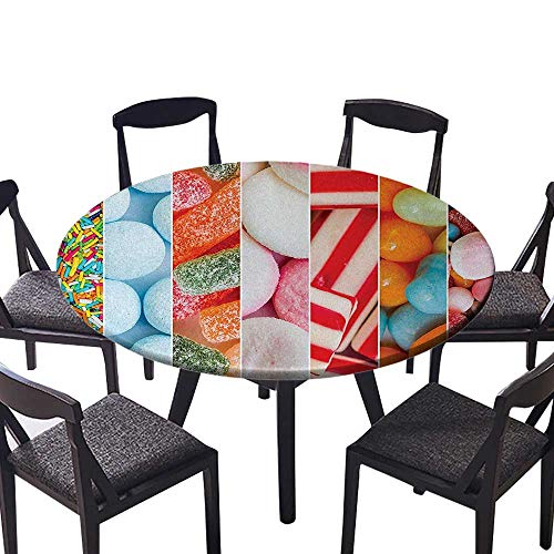 Modern Table Circle Cloth Statue Asian Meditation Fountain Lantern Eastern Culture Serenity Themed Green Grey Red Indoor or Outdoor Parties 67