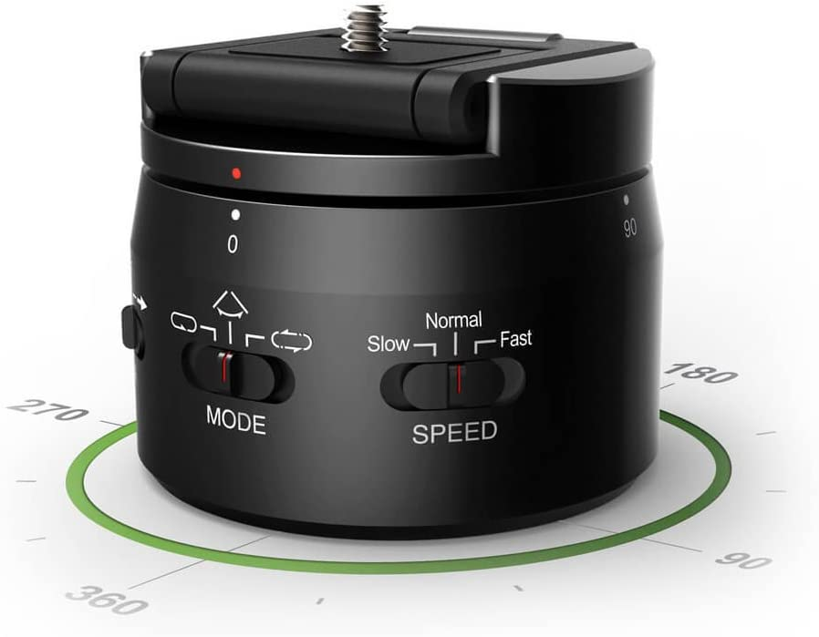 Activeon MPH01A Mini Motorized 360/° Panning Head for Activeon Action Camera