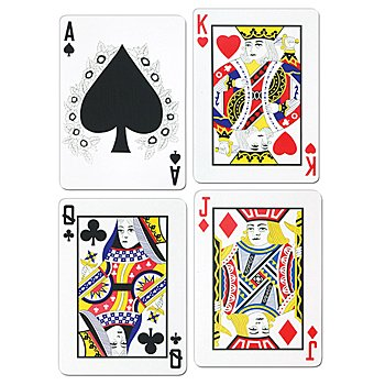 Pkgd Playing Card Cutouts   (4/Pkg)