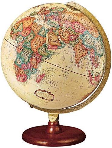 "B000I4ZNMI Replogle Piedmont 12"" Antique Ocean Color World Globe Made in USA 51ksudaurAL."