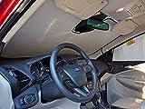 HeatShield The Original Auto Sunshade, Custom-Fit for Ford Escape SUV w/Sensor 2017, 2018, Silver Series