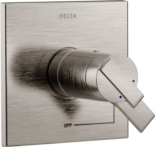 Delta Faucet Delta T17T067-SS Ara TempAssure 17T Series Valve Only Trim, Stainless