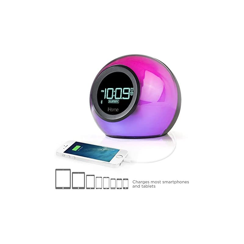 iHome iBT29BC Bluetooth Color Changing D