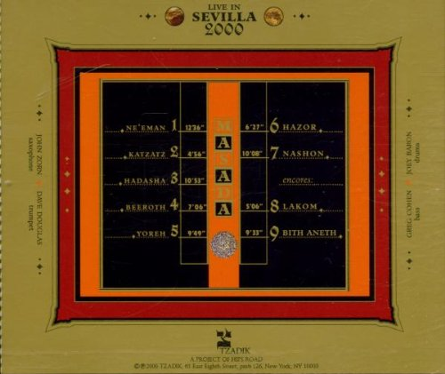 Live in Sevilla 2000 by TZADIK RECORDS