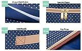 Jumbo Folding Fabric Storage Bags for Blanket