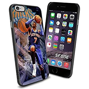 Carmelo Anthony New York Knicks WADE1017 Basketball iphone 5 5s inch Case Protection Black Rubber Cover Protector