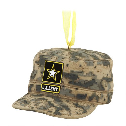 U S Army Combat Uniform Cap Christmas Ornament 3
