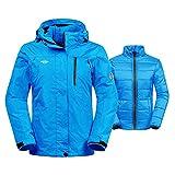 Wantdo Women's Thick 3-in-1 Ski Jacket Interchange Raincoat Hooded...