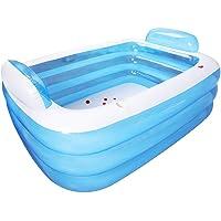 Zihui Piscina Familiar PVC Ecológico Engrosado Piscina Inflable para Niños Piscina Infantil Piscina Easy Set Azul…