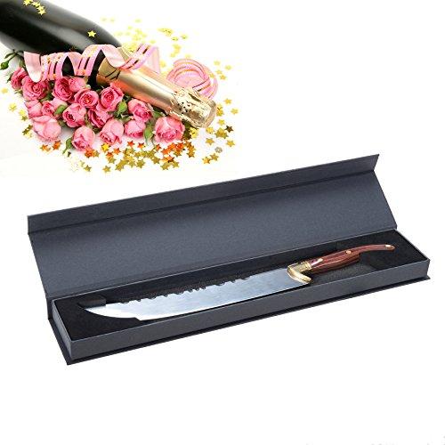 CO-Z Champagne Saber Sword Knife Opener Luxurious for Champagne Red Wine Bottle (Champagne Bottle Knife)