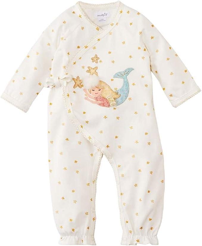 Infant Mud Pie Baby Girls Mermaid Kimono One-Piece Playwear
