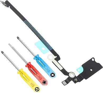 MMOBIEL Antena Flex Cable Altavoz de Reemplazo Compatible con iPhone 8 Plus 5.5 Pulgada Incluye 3X Destornilladores
