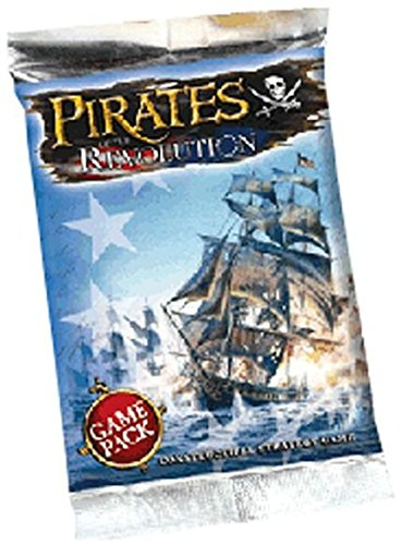 Pirates of the Revolution Unlimited Edition Booster Pack - Constructible Strategy Game by ()