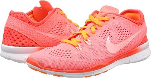 Nike Womens Free 5.0 Running Sneaker Rosa