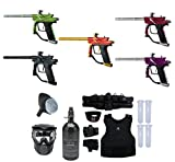 MAddog Azodin Blitz 3 Starter Protective HPA Paintball Gun Package