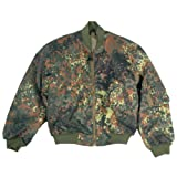 Mil-Tec MA-1 Flight Jacket Flecktarn size XL
