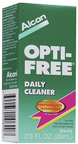 Opti-Free Daily Contact Lens Cleaner-0.676 Oz