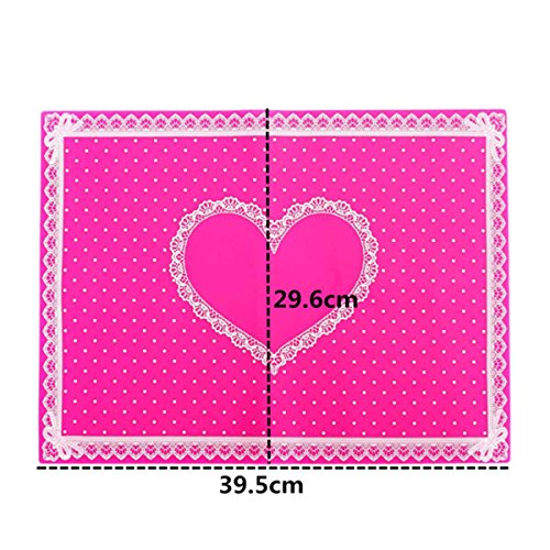 Price comparison product image Acrylic Nail Art Table Mat Keep Clean Manicure Tools