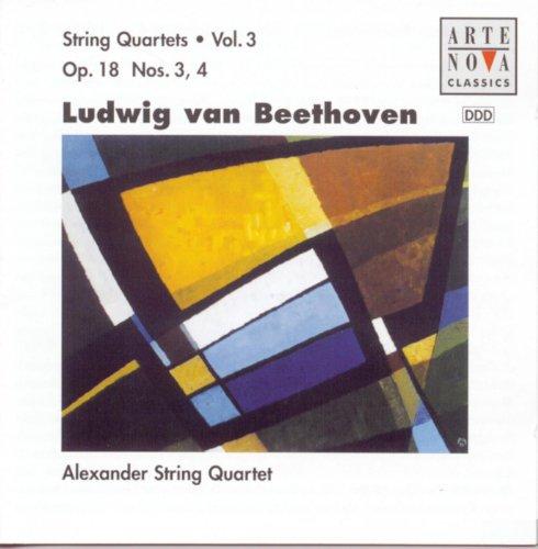 Beethoven: String Quartets Vol.3 Op.18 No. 3+4