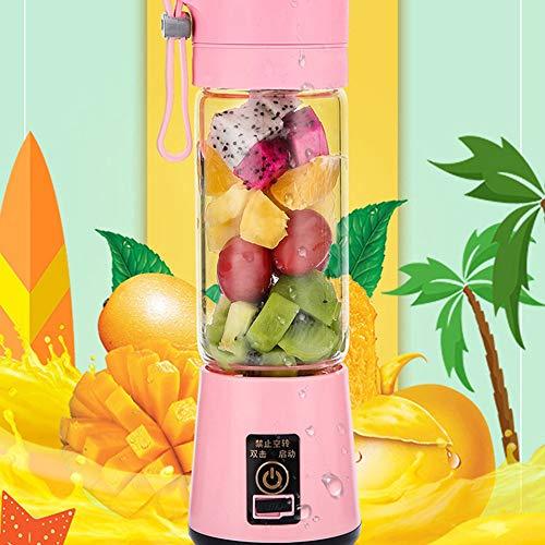 gfjfghfjfh Tragbare Gr/ö/ße USB elektrische Fruchtpresse Handheld Smoothie Maker Mixer wiederaufladbare Mini tragbare Saft Tasse Wasser